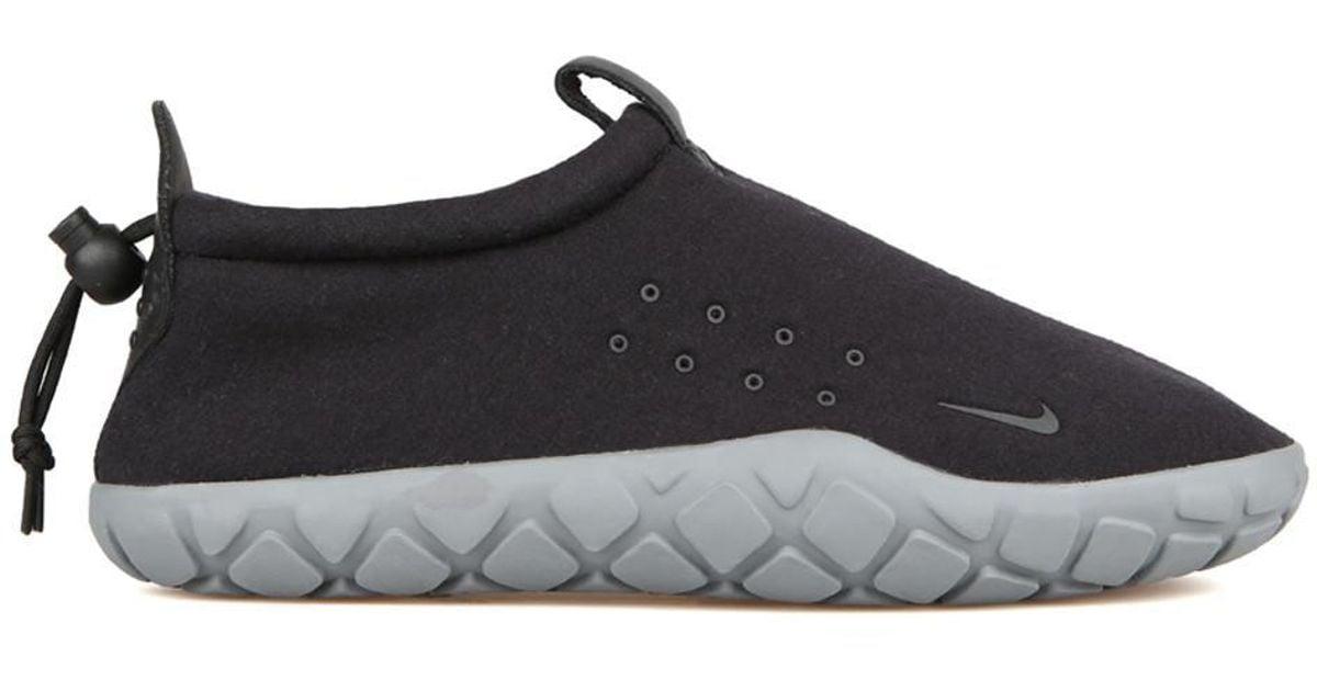 Lyst - Nike Air Moc Tech Fleece in Black for Men 3b5d65bda7