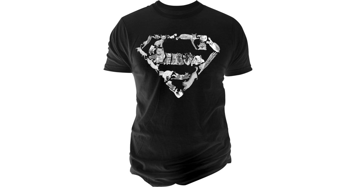 Lyst Changes Mens Cat Superman Logo T Shirt In Natural For Men