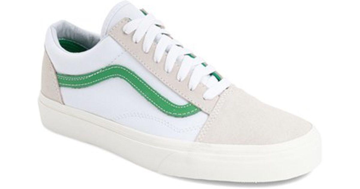 Lyst - Vans  old Skool  Sneaker in White for Men 448df2e8c804