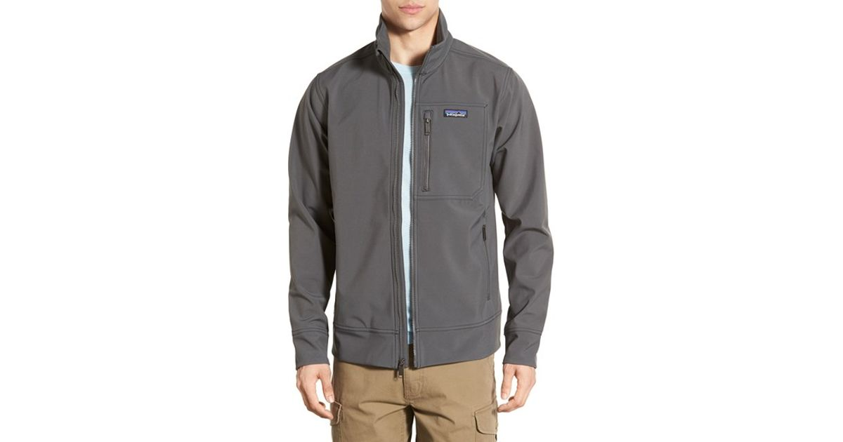 Patagonia Sidesend Regular Fit Water Repellent Jacket In