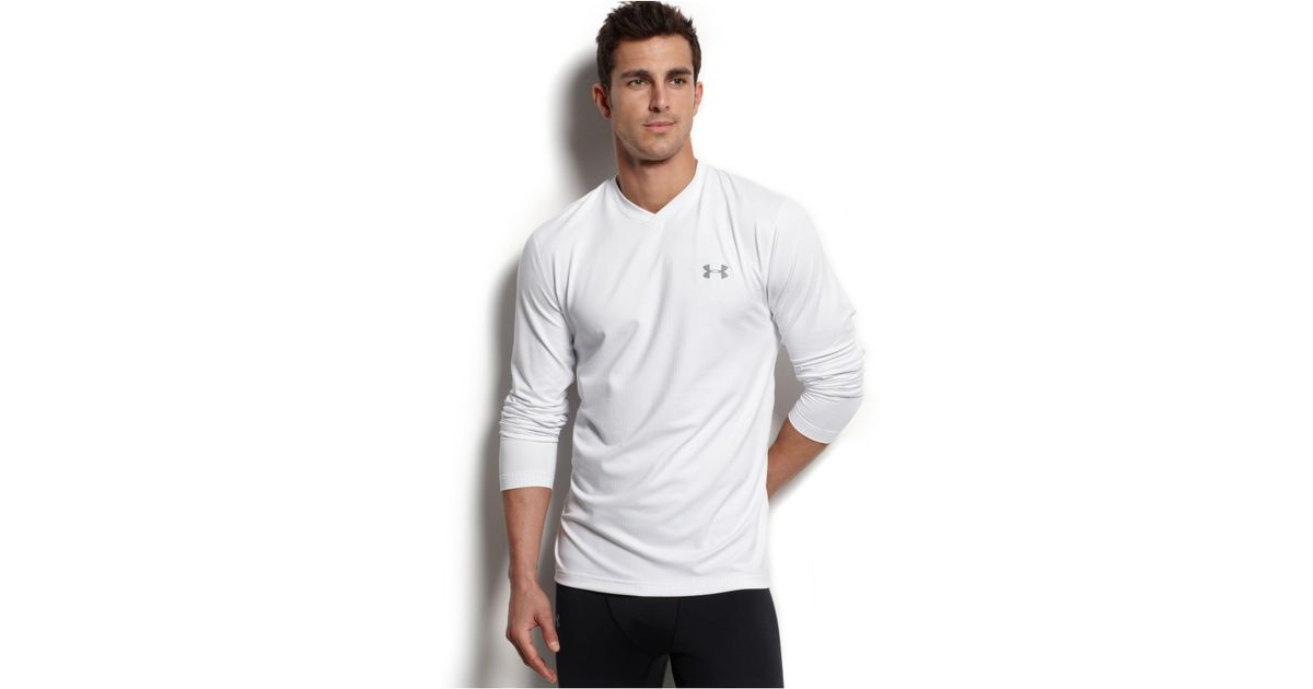 under armour v neck long sleeve