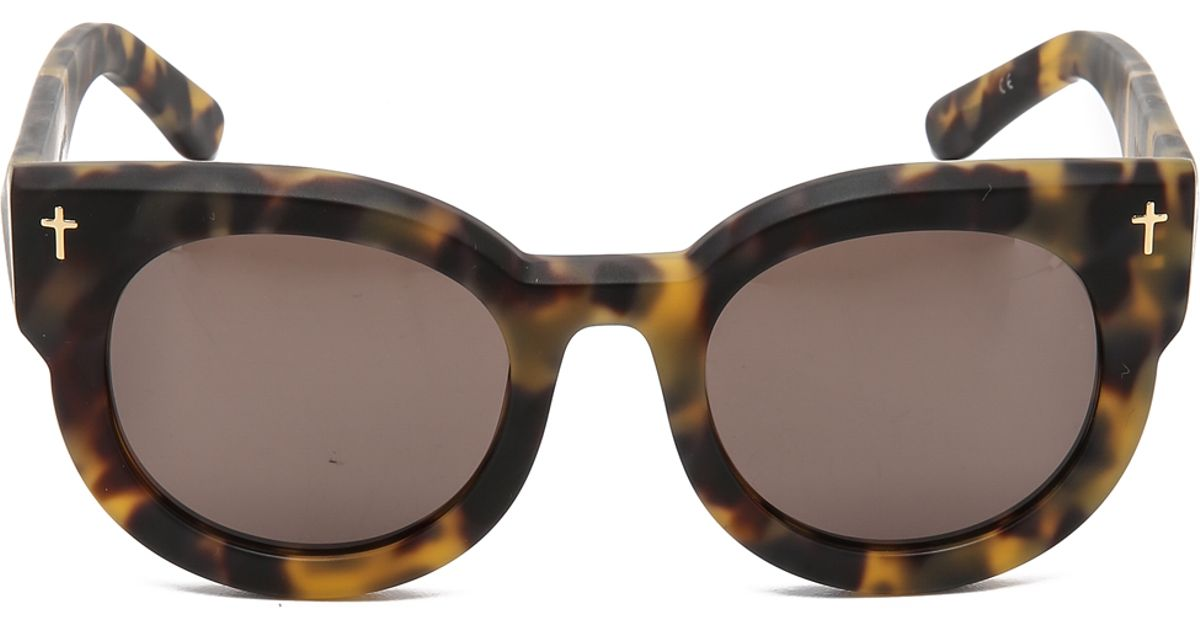 e208b4b29c5 Lyst - Valley Eyewear A Dead Coffin Club Sunglasses in Brown
