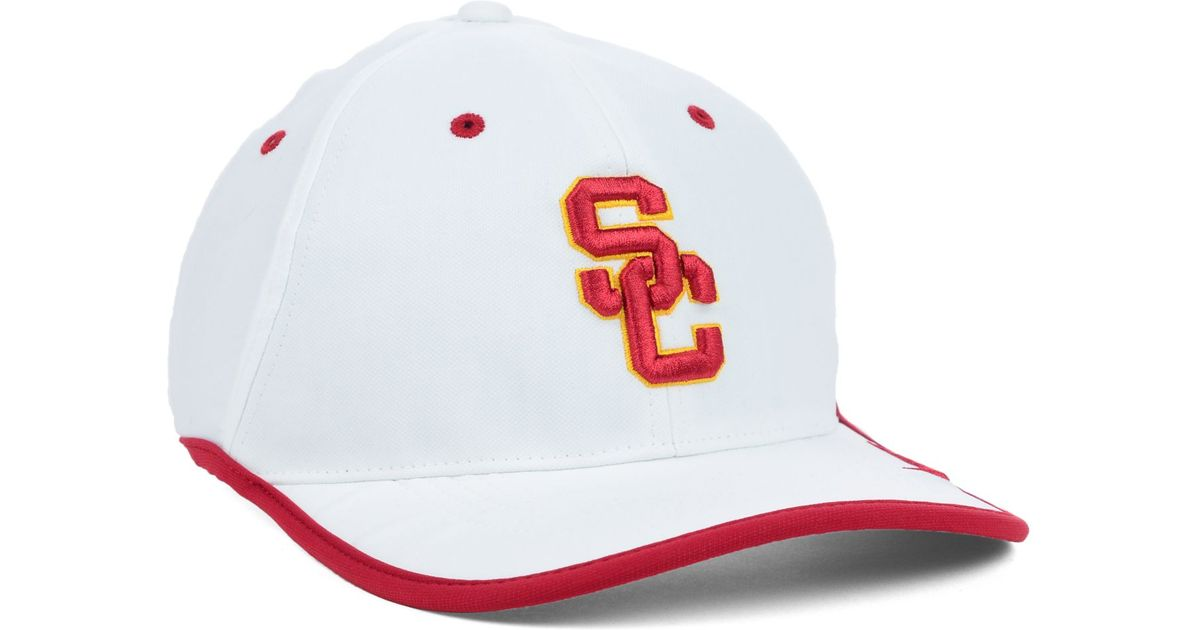 the best attitude bdef6 24acb ... italy lyst nike usc trojans coaches dri fit cap in white for men 55695  f01bb ...
