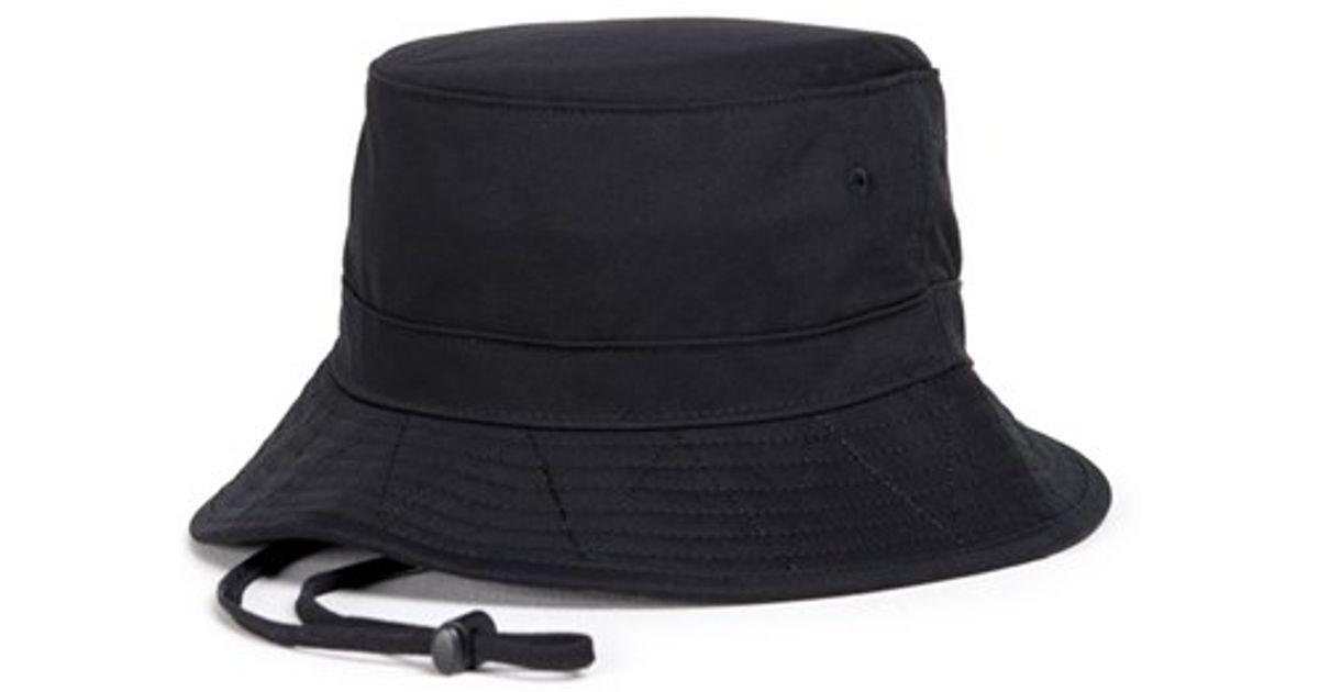 80cb52e7db7 ... where to buy lyst herschel supply co. creek bucket hat in black a32cc  01c0b