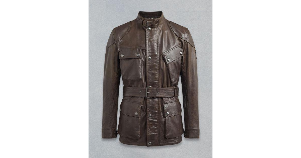 eae69ce99 Belstaff Black The Panther Jacket for men