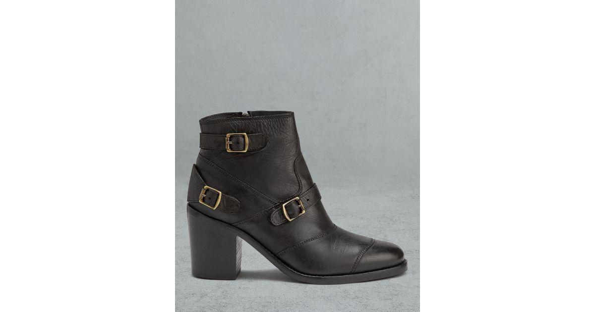 4dad736e9bc4 Lyst - Belstaff Trialmaster Short Boots in Black