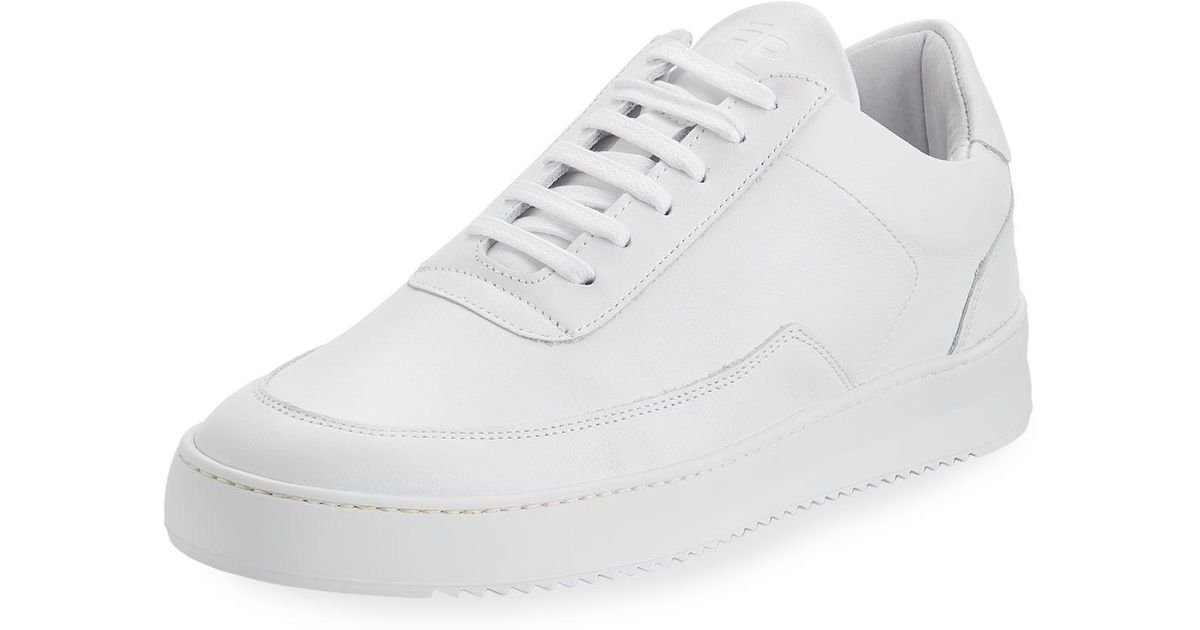 7348a72bcc Lyst - Filling Pieces Mondo Ripple Men s Low-top Sneakers in White for Men