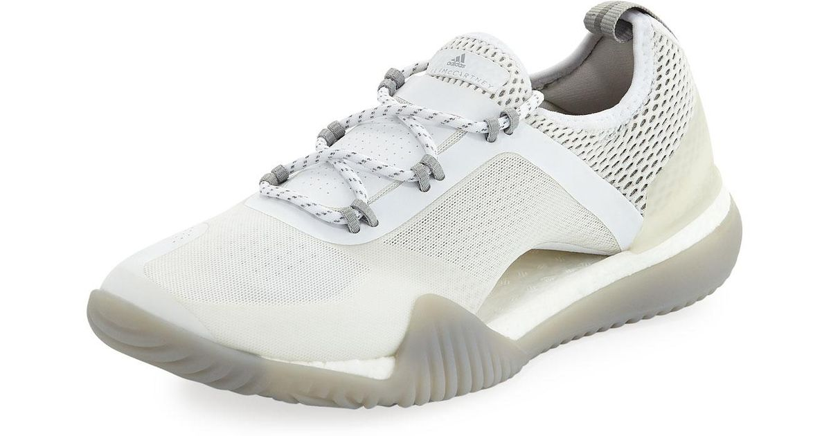 b6ffbe08c91 Lyst - Adidas By Stella Mccartney Pure Boost X 3.0 Sneakers in White