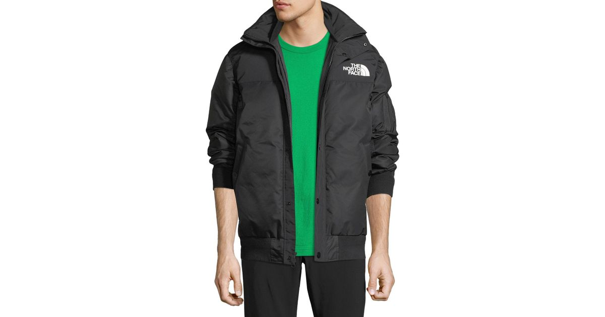 4cdcaa9a1 Sacai Black The North Face & #174 Puffer Bomber Coat for men