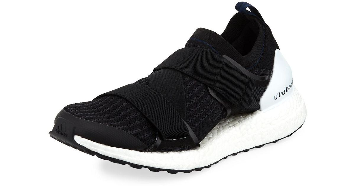 newest d50e7 9f0d9 Adidas By Stella McCartney Black Ultra Boost X Double-strap Sneaker for men