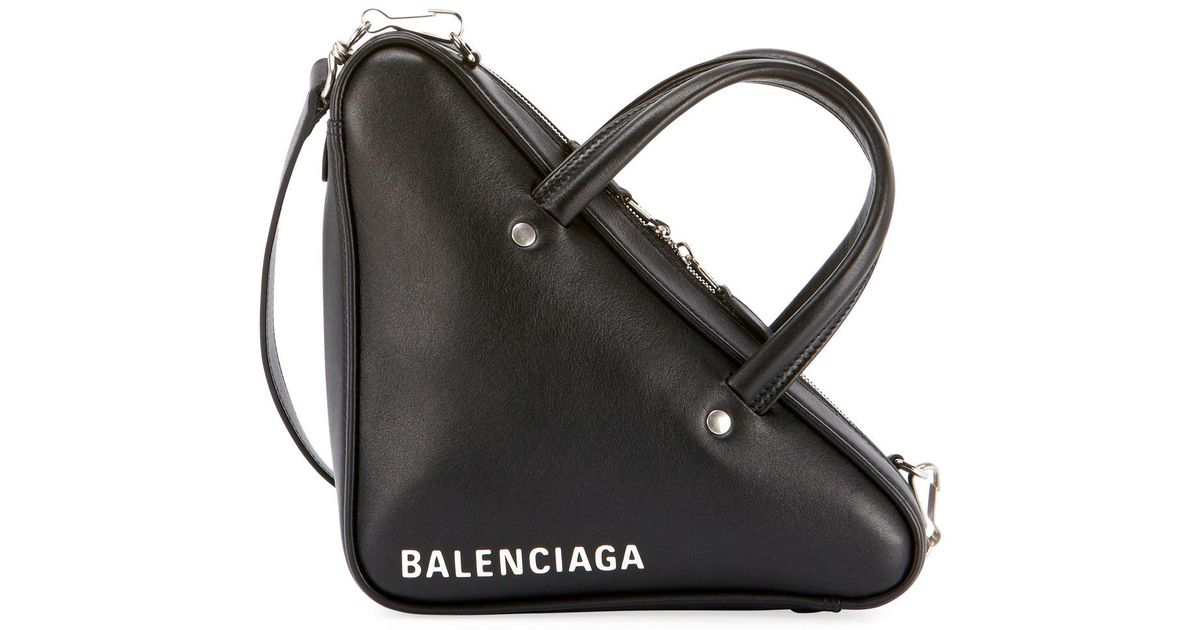 Balenciaga Triangle Duffel Small Leather Bag 1SjihLn