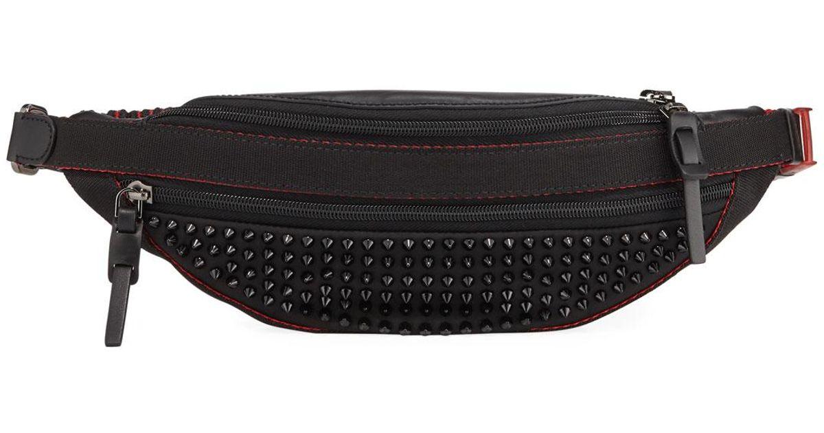 877270e2e30 Christian Louboutin - Multicolor Men's Paris Nyc Spike Belt Bag/fanny Pack  - Lyst