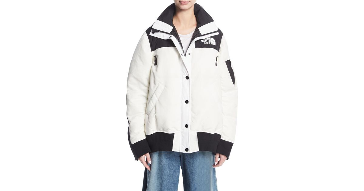 442b10e13 Sacai Multicolor The North Face & #174 Puffer Bomber Coat