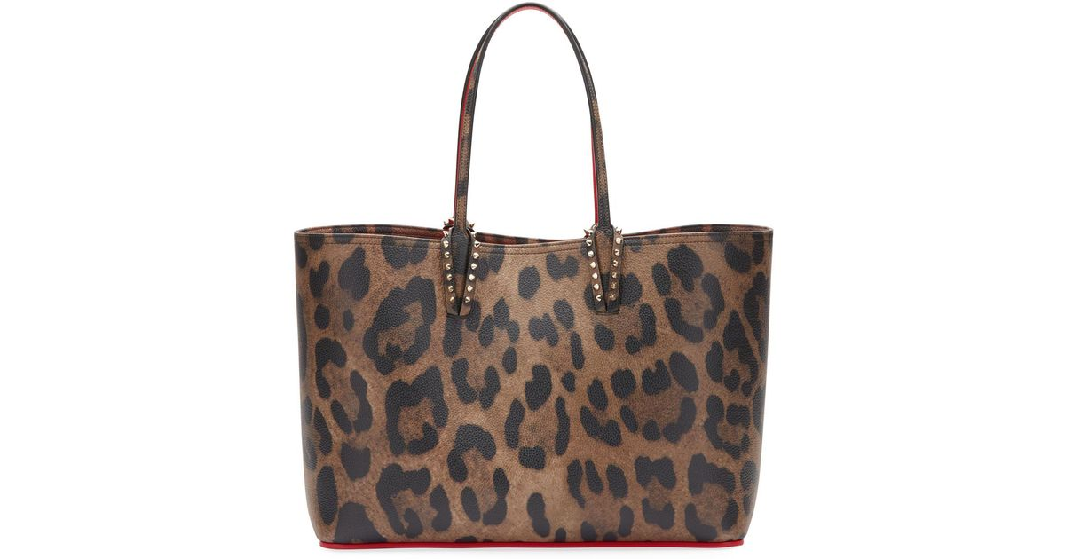 774f639f797 Christian Louboutin Brown Leopard Print Tote Bag