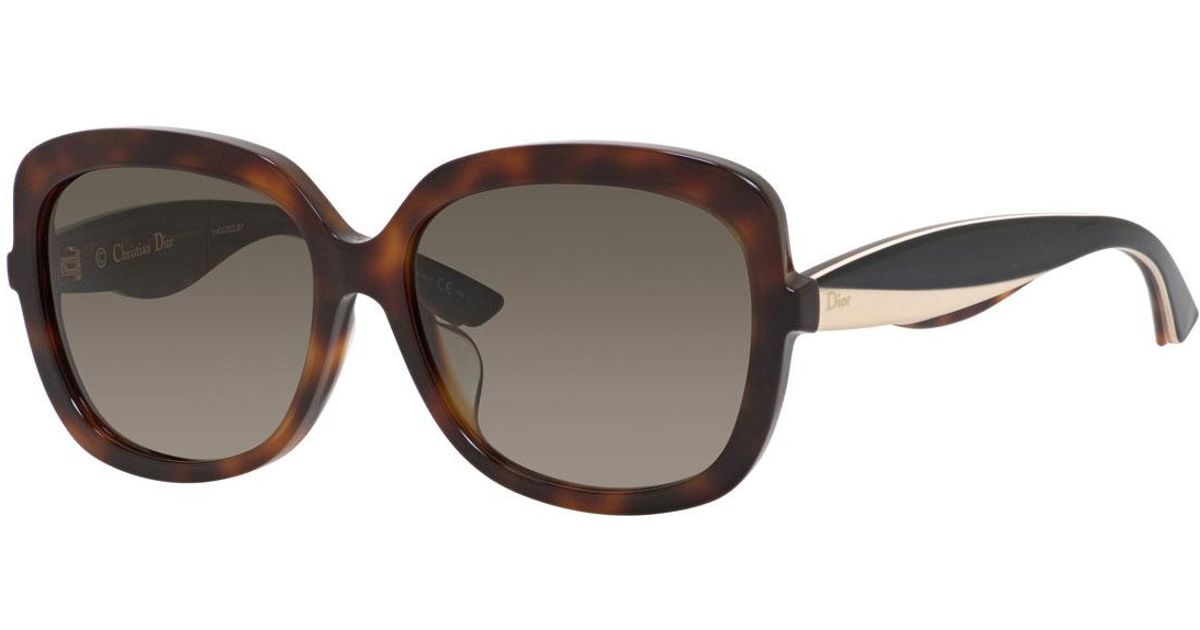 2797dcfbbca Lyst - Dior Envolf Square Acetate Sunglasses in Brown
