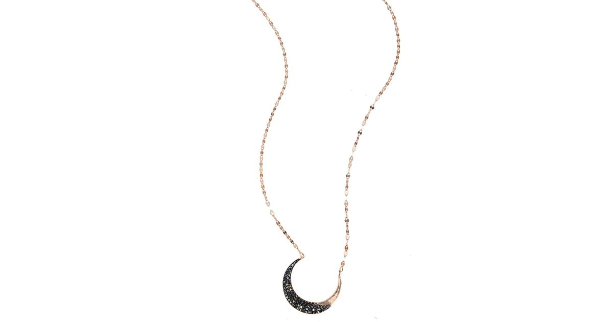 Lana Jewelry Mirage Diamond Lariat Necklace in 14K Rose Gold hUjlX7v