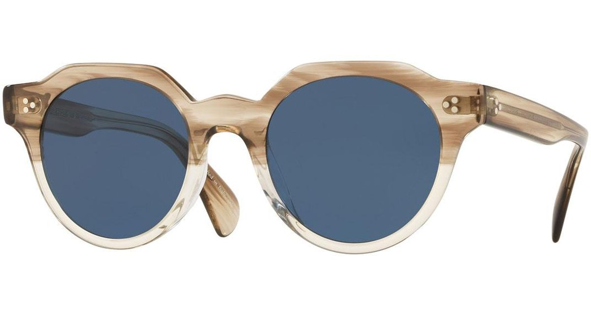 f3f2a04a578 Lyst - Oliver Peoples Irven in Blue for Men