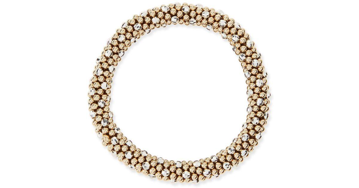 Meredith Frederick Elsa 14K Gold & Onyx Link Bracelet oPO1K