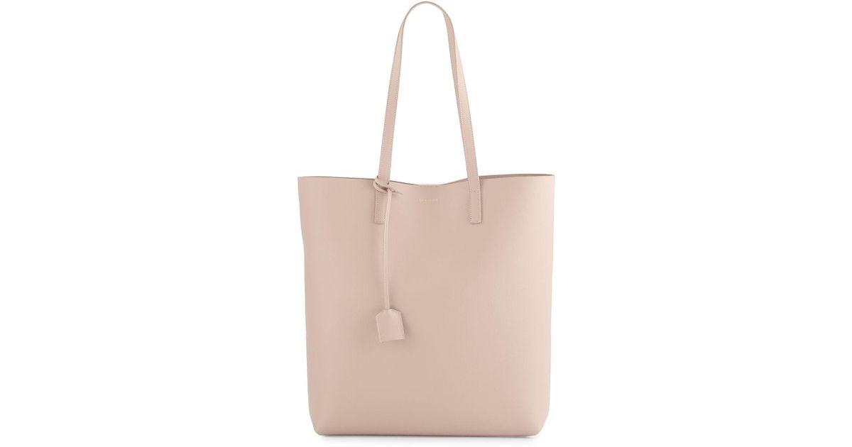 bf42e84b5b Lyst - Saint Laurent Medium North-south Shopping Tote Bag
