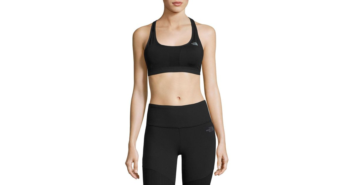 436995804f576 Lyst - The North Face Stow-n-go Sports Bra in Black - Save 58%