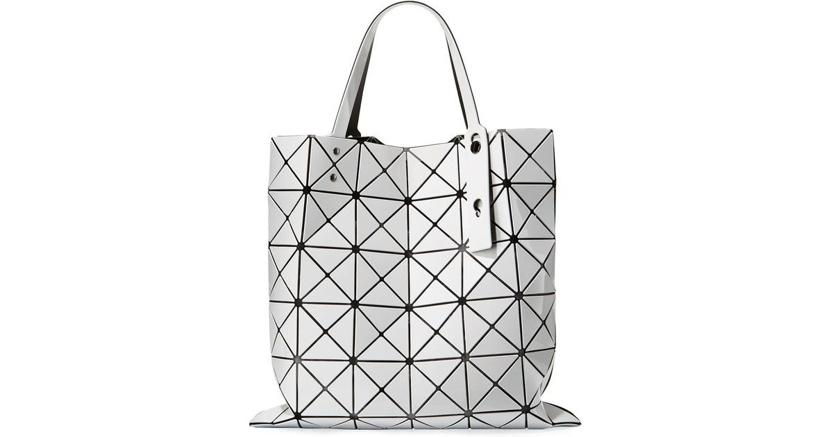 a4e1518babe9 Lyst - Bao Bao Issey Miyake Lucent Lightweight Tote Bag in White
