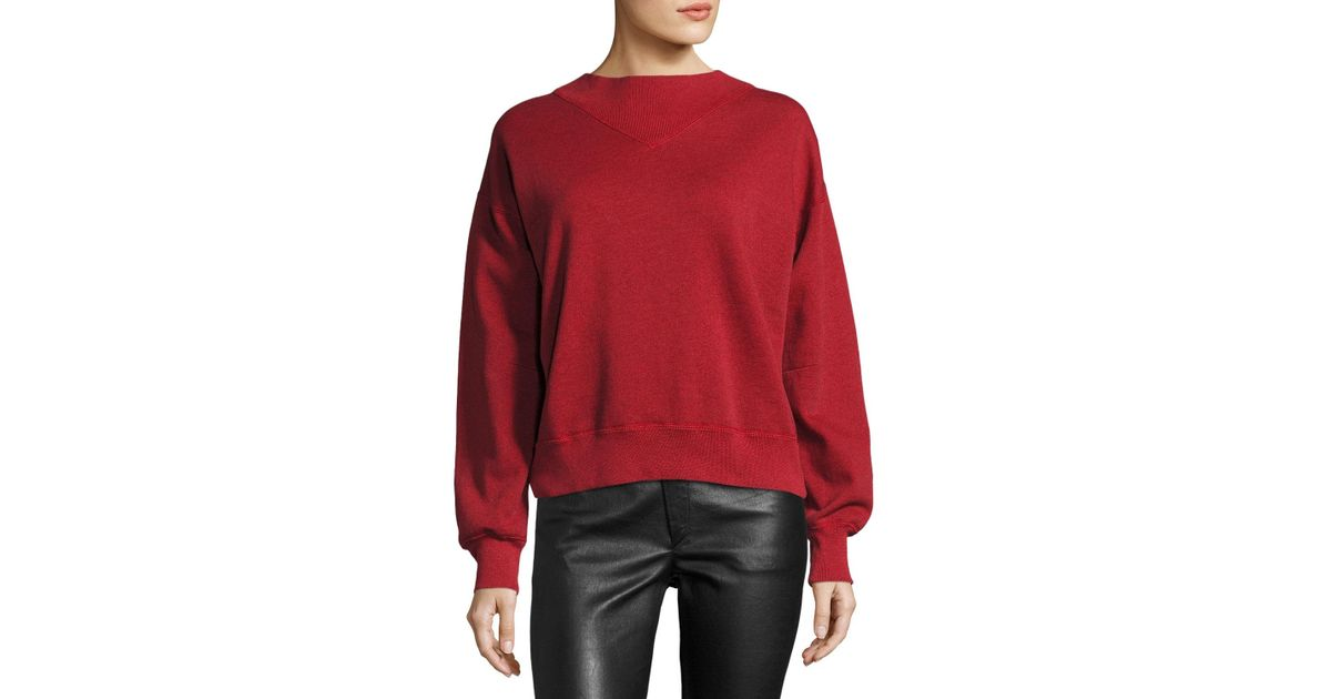 Cheap 2018 New Moby Crewneck Logo Sweatshirt Isabel Marant Buy Cheap 100% Original Purchase Sale Free Shipping NFc0RaEf