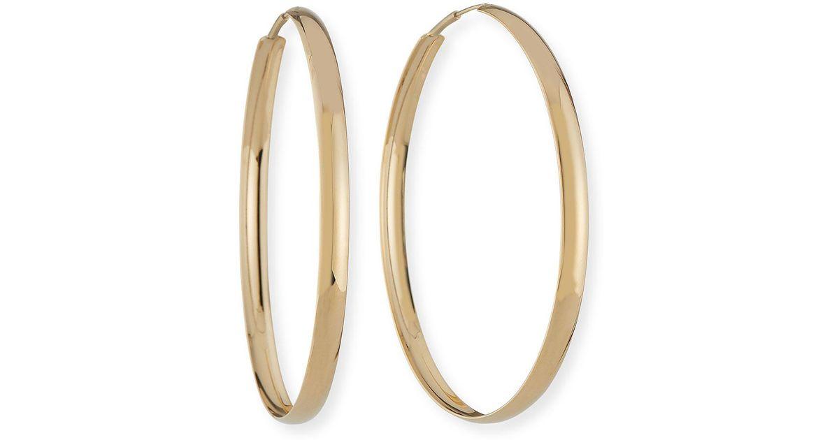 Lana Jewelry 14k Curve Hoop Earrings uL8ji9ll