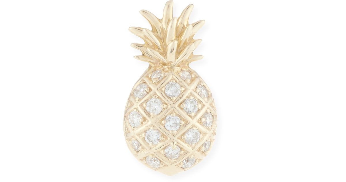 Diamond Pineapple Necklace