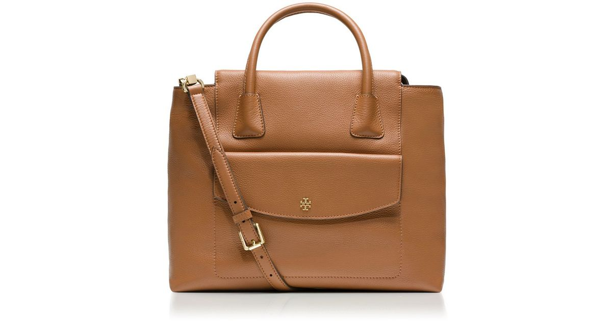 1c797ce78981 Tory Burch Emerson Tote in Brown - Lyst