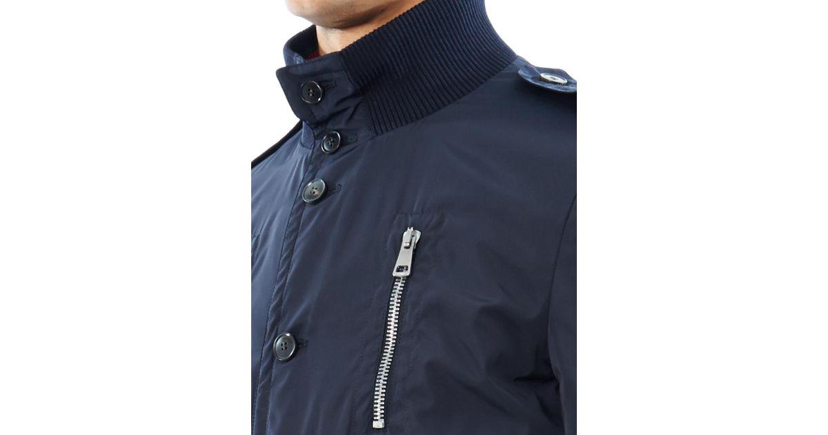 Gucci Madonna Bomber Jacket In Blue For Men Lyst