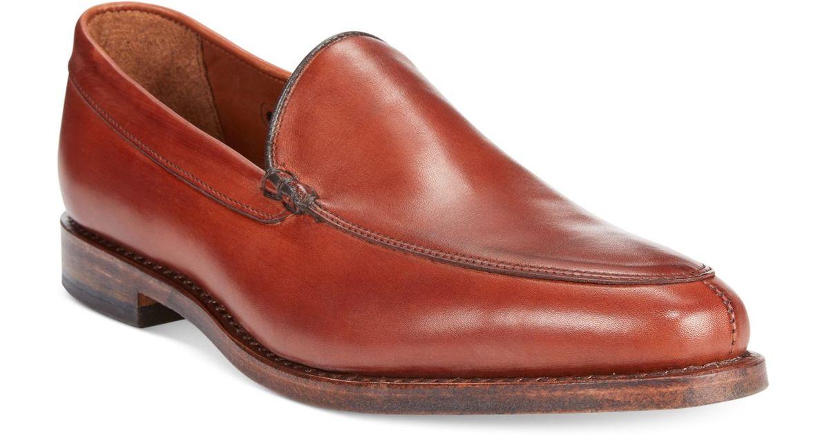 dd14f685938 Lyst - Allen Edmonds Steen Slip-On Loafers in Red for Men
