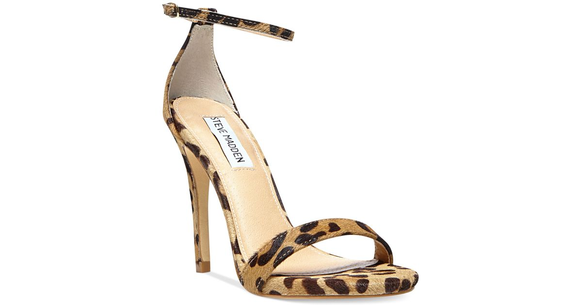 017e4669411 Steve Madden Brown Stecy Two Piece Sandals