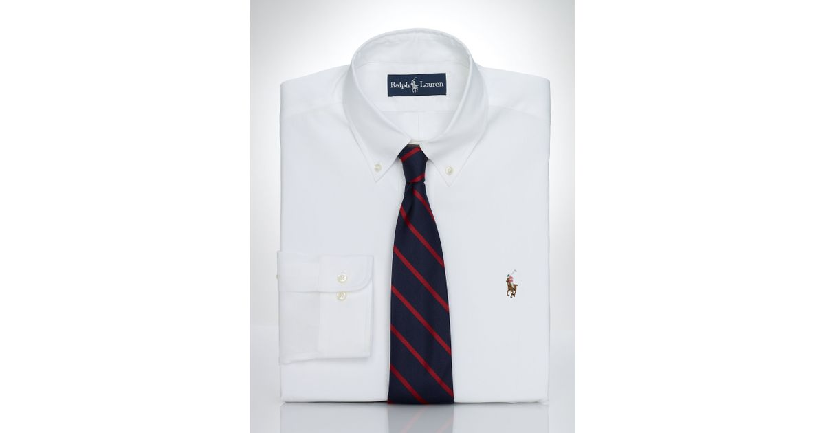 Pink Pony Pinpoint Oxford Dress Shirt In White For Men Lyst