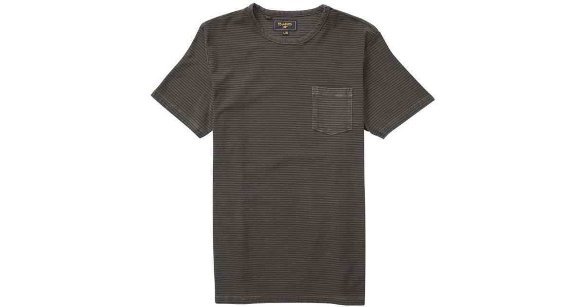 f0c84e6e48ee Billabong Stringer Short Sleeve Crew Tee for Men - Lyst