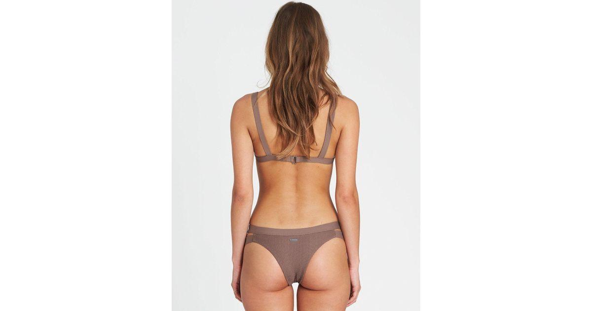 a0993acae12 Billabong Meshed Up Isla Bikini Bottom in Green - Lyst