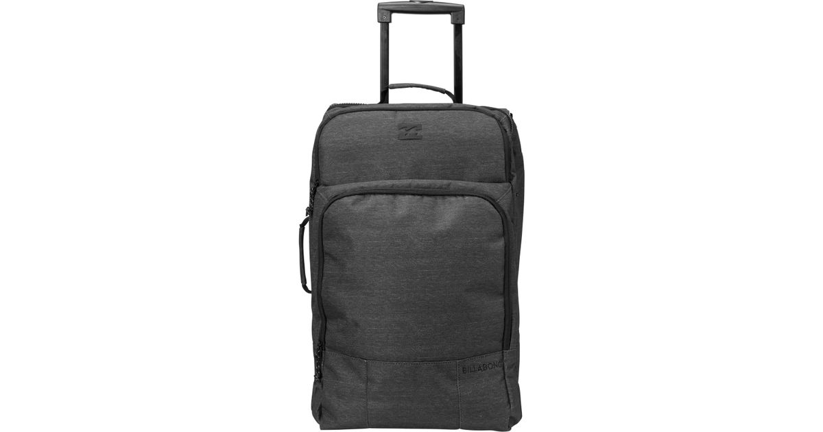 69eab016aea0 Billabong Black Booster Carry On Travel Bag for men