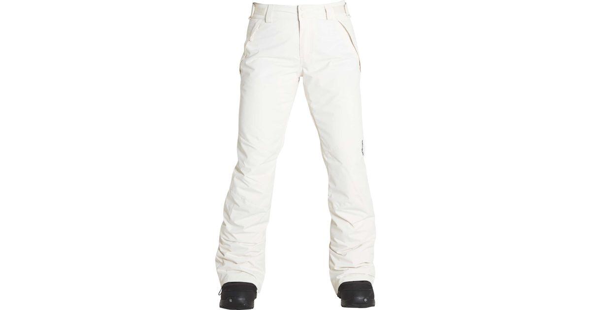 f78e511d59 Lyst - Billabong Malla Snow Pants in White