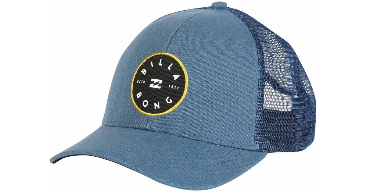af7d1028380 Lyst - Billabong Walled Trucker Hat in Blue for Men