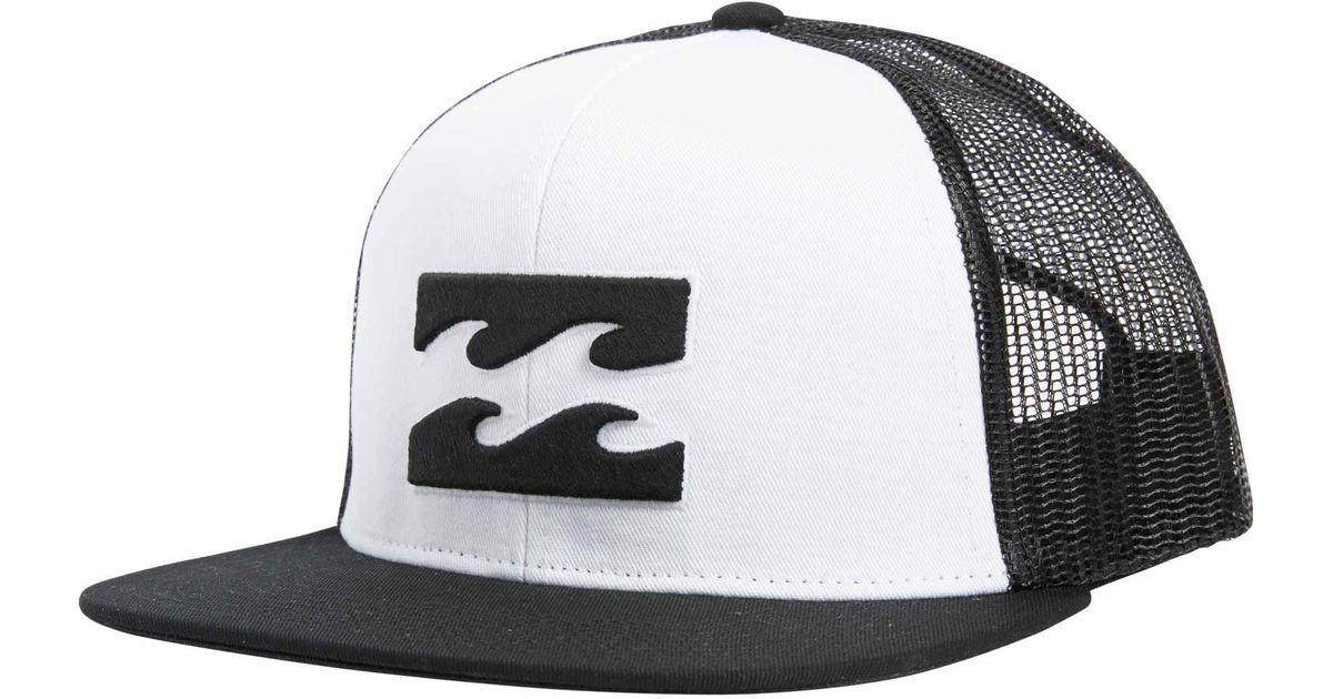 d2ebf2dbea4 Lyst - Billabong All Day Trucker Hat in White for Men
