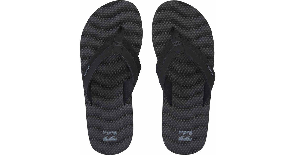 08eeaf0f39b8c Billabong - Black Dunes Impact Sandal for Men - Lyst