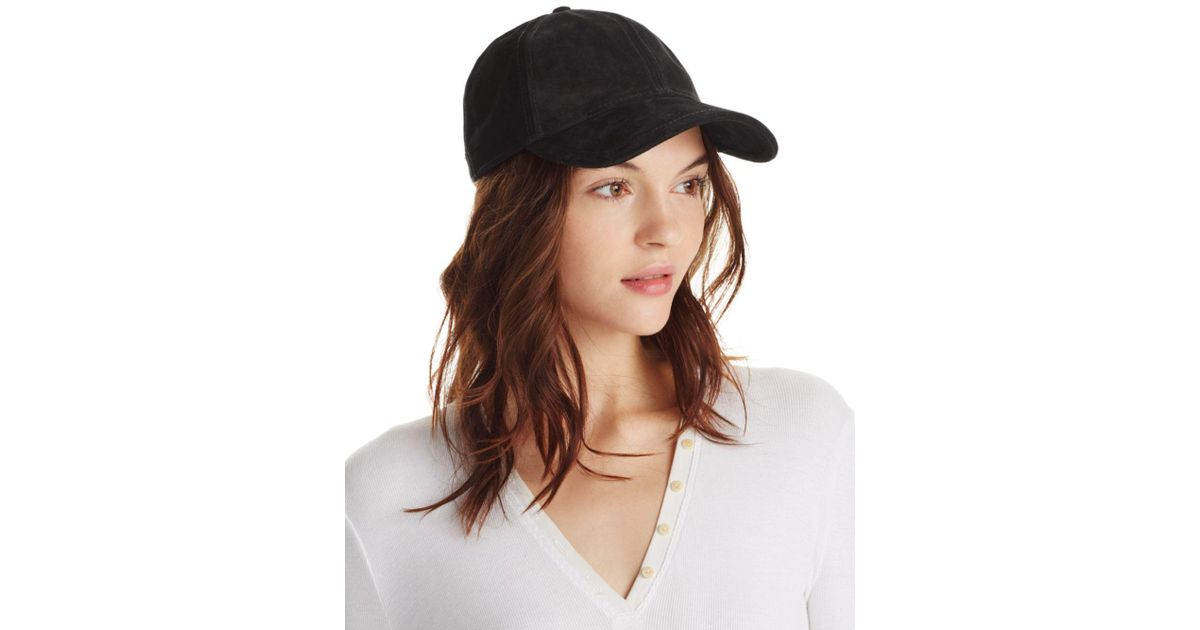 ad8c8f8f6a9f0 Lyst - Rag   Bone Marilyn Baseball Cap in Black