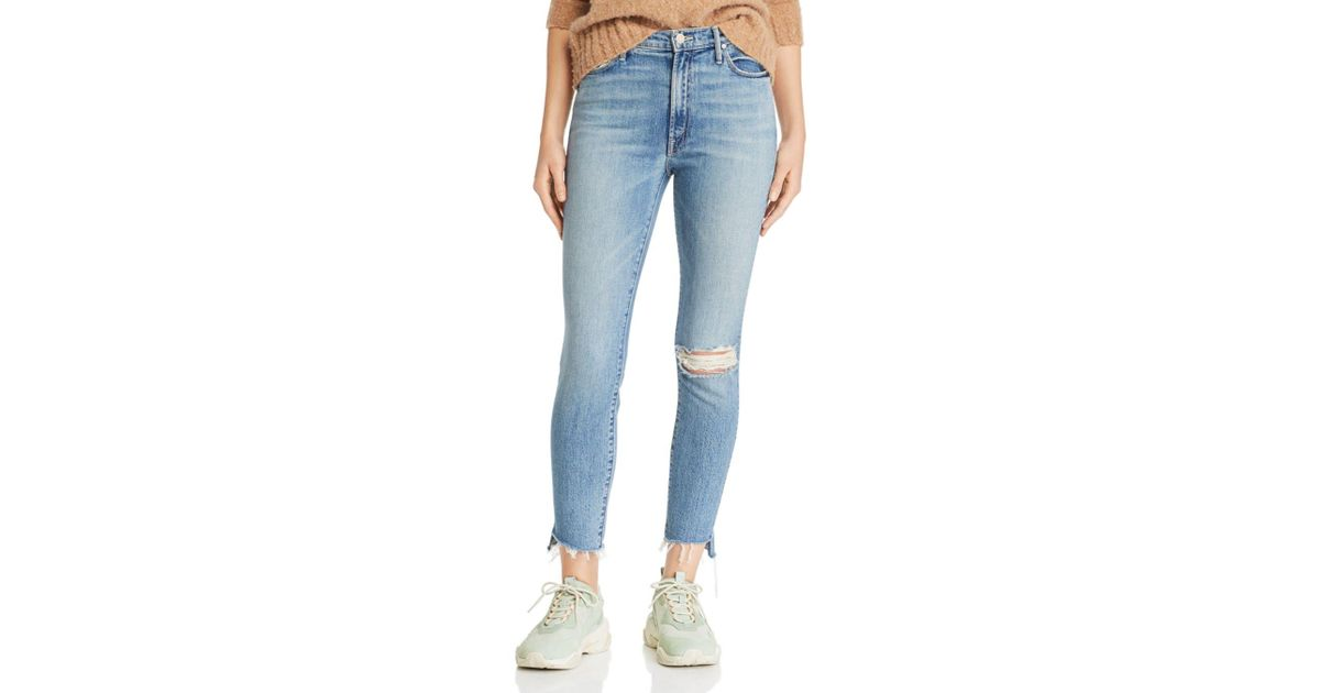 NWT Mother Denim Stunner Ankle Step Fray Exposed Secret Sister $235