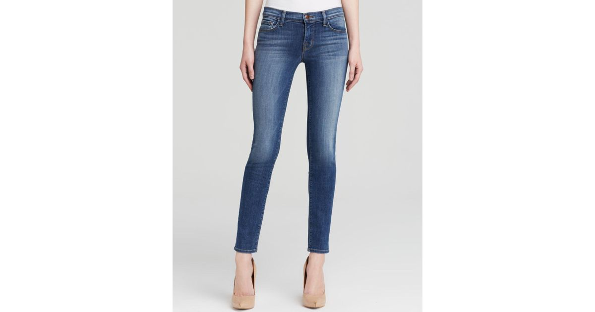 ad818a16c994 Lyst - J Brand Jeans - 811 Mid Rise Skinny In Imagine in Blue