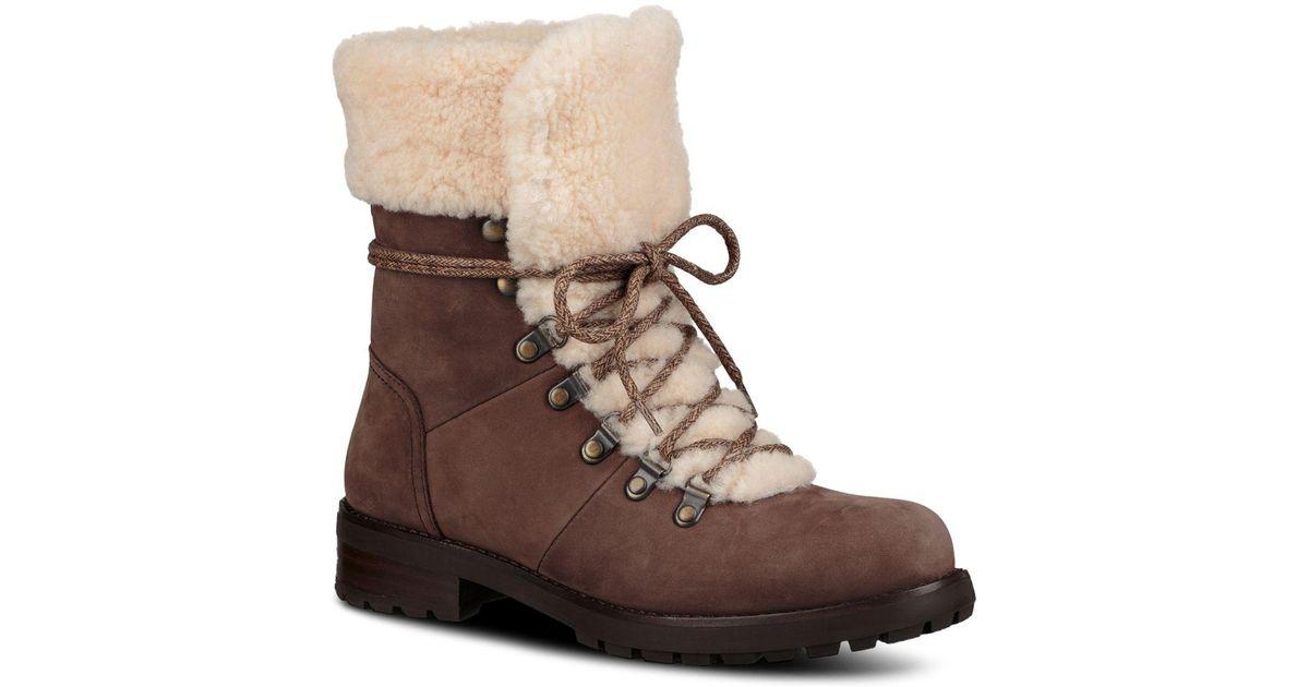 Fraser Nubuck Leather \u0026 Sheepskin Lace