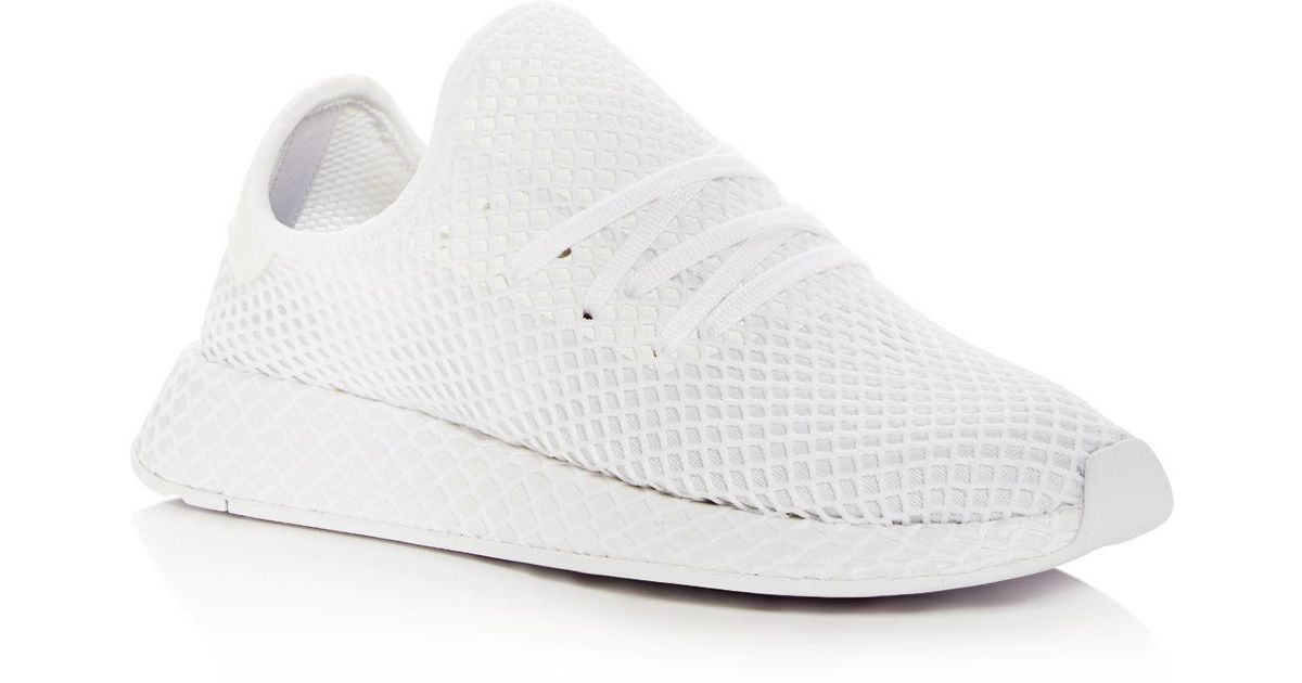 separation shoes fd03a cc071 Lyst - adidas Deerupt Runner B Side Pack Casual Sneakers From Finish Line  in Gray