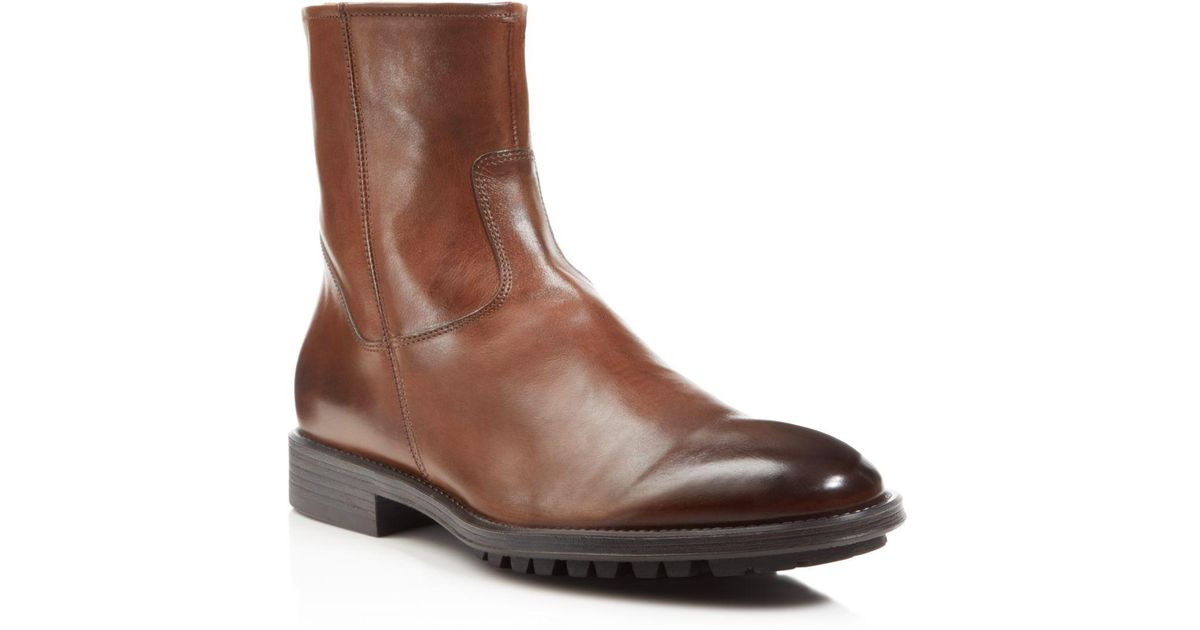To BootHarrison Leather Side-Zip Boots qLTvvdw