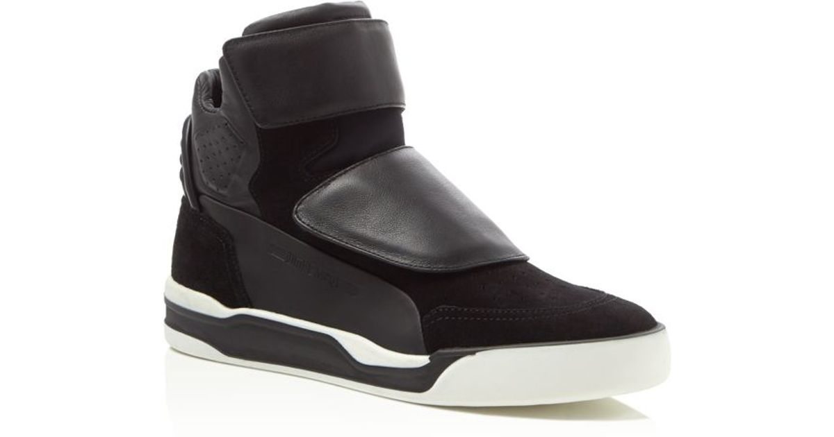 f674e878dbc Lyst - PUMA Mcq Collection Move Mid Unisex Sneakers in Black for Men
