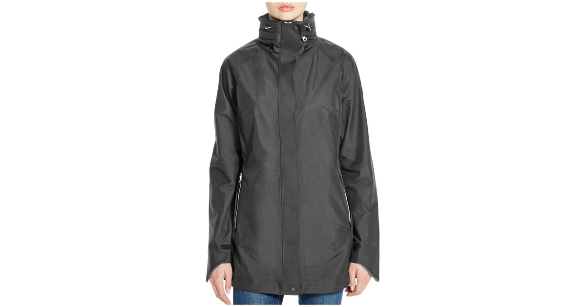 Canada Goose womens outlet 2016 - Canada goose Hayward Shell Raincoat in Black (Charcoal) | Lyst