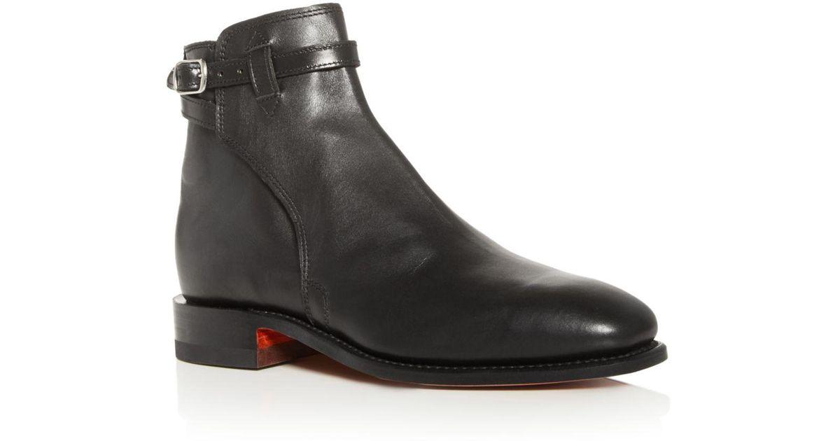 d5fa5e74098 R.m. Williams Black Men's Stockman's Leather Buckle Boots for men