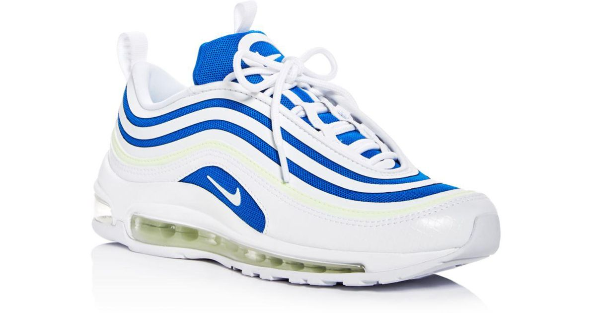 Nike Blue Women's Air Max 97 Ultra '17 Se Lace Up Sneakers